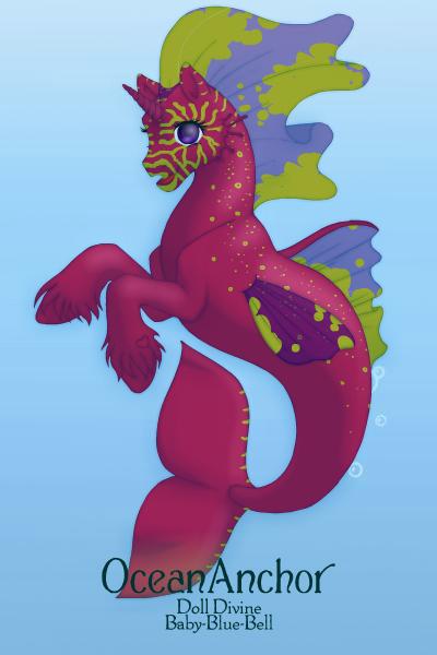 Seahorse 60 by QuestionUnicorn