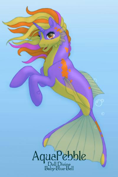 Seahorse 64 by QuestionUnicorn