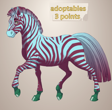Zebra 4 by QuestionUnicorn