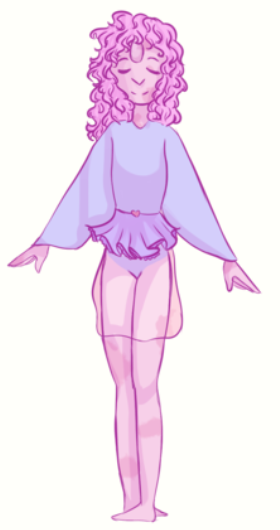 Pastel Pearl by CurseTina by QuestionUnicorn