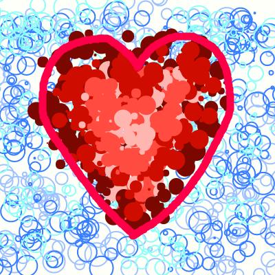 Bubble Heart by QuestionUnicorn