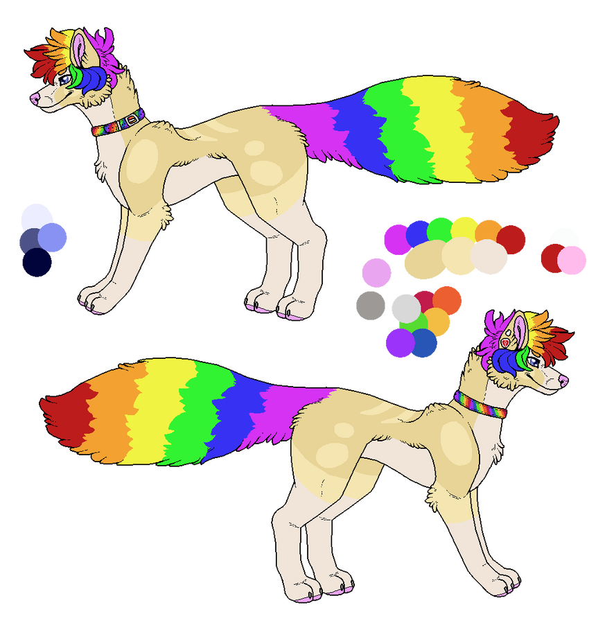 New Character Reference By X Azariadragon X- by QuestionUnicorn
