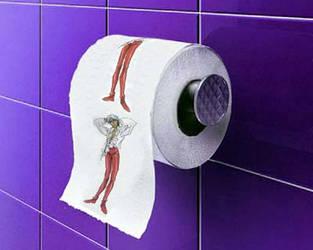 Movie Akio Toilet Paper by InfamousTamago