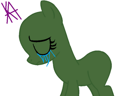 mlp base sadcry by katycreepyfnafmlplov on deviantart