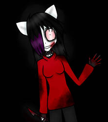 Katy The Killer [REDRAW] by katycreepyFNAFmlplov