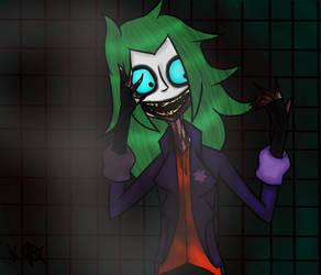 Vampire Joker FanArt by katycreepyFNAFmlplov