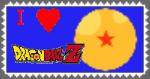 I Love DBZ Stamp by purapuss