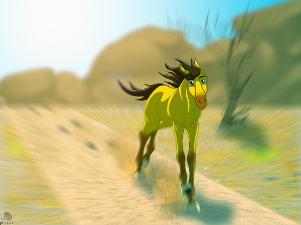 Spirit Running by purapuss