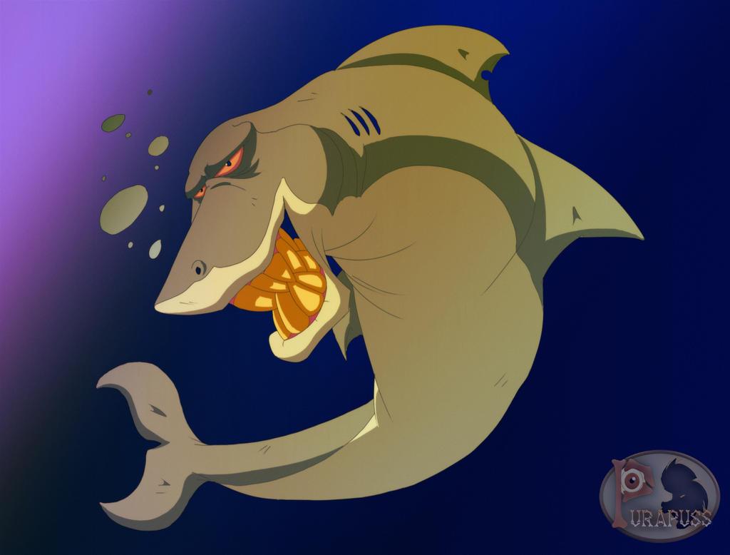 Sharkie by purapuss
