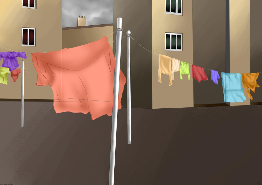 Washing Lines by Neliel96