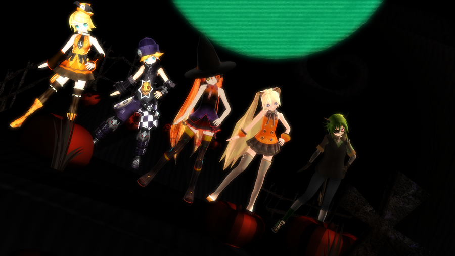 MMD This is Halloween by Imalune on DeviantArt