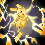 Pikachu uses Thunder!