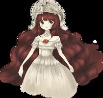 cream bonnet by mogusq