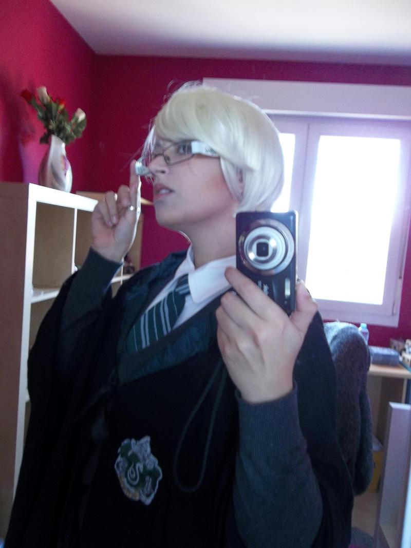 Draco Malfoy cosplay by NevanRhaegar