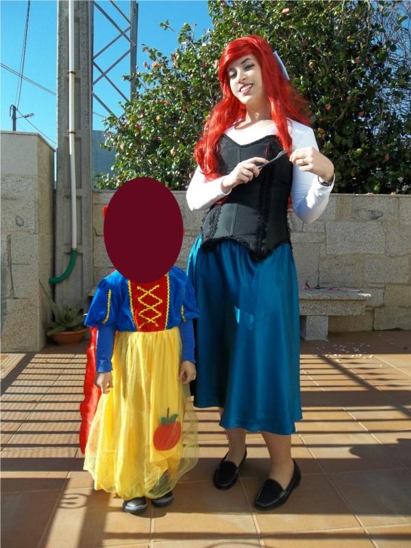 Ariel, the Little Mermaid and cutie SnowWhite by NevanRhaegar