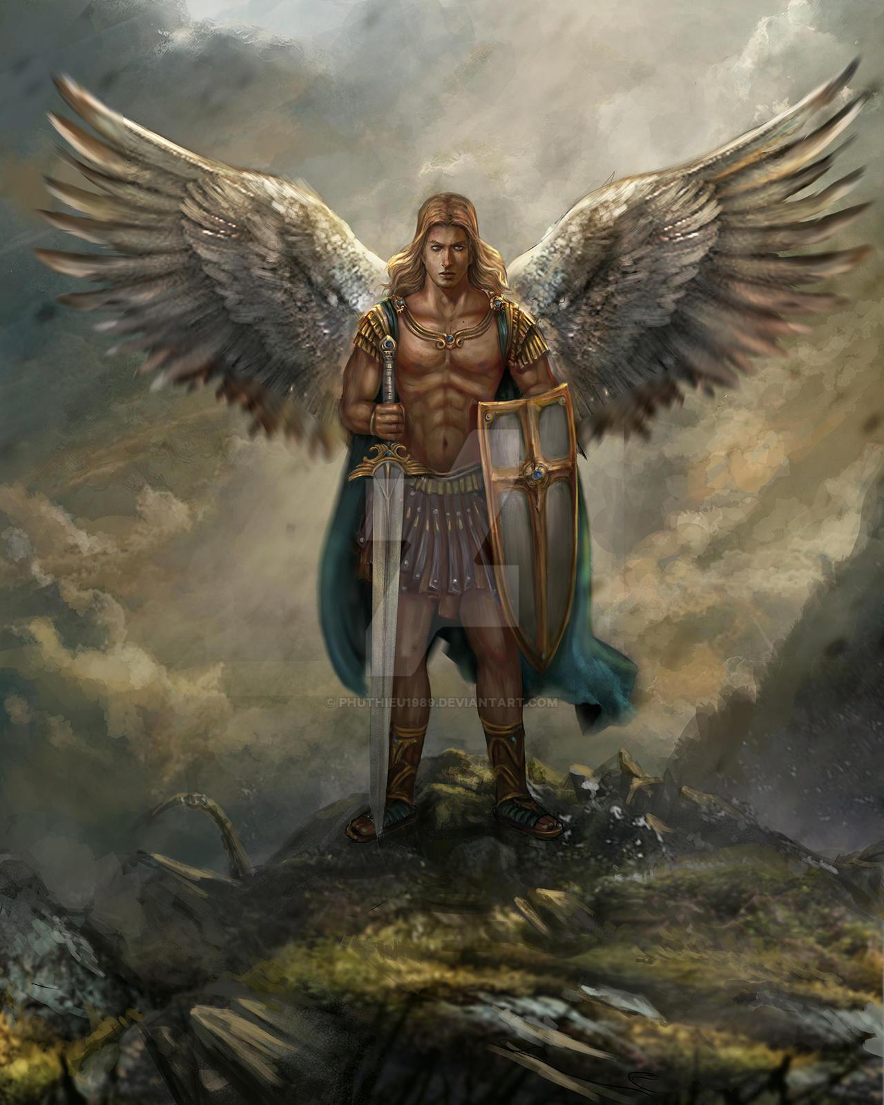 Archangel-Michale by PhuThieu1989 on DeviantArt