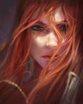 My Artwork- Fanart Katarina- League of Legends