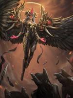 My Artwork: Demon-Angel: Abaddon
