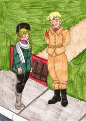 The Blue Moon Knights - Love in the Times of WW2 by SakuraHayesStudios