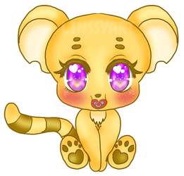 Kougra baby by LinssyArt