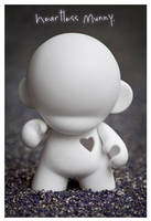Heartless Munny by littledesignshop