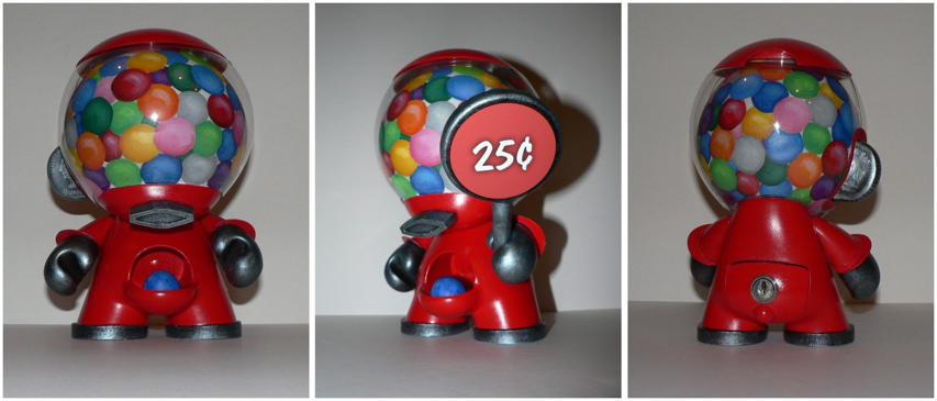Mr Gumball by littledesignshop