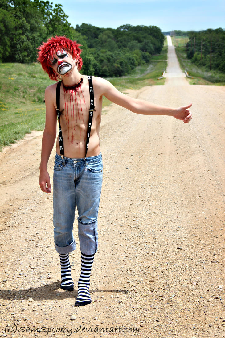 The Hitchhiker by SamSpooky