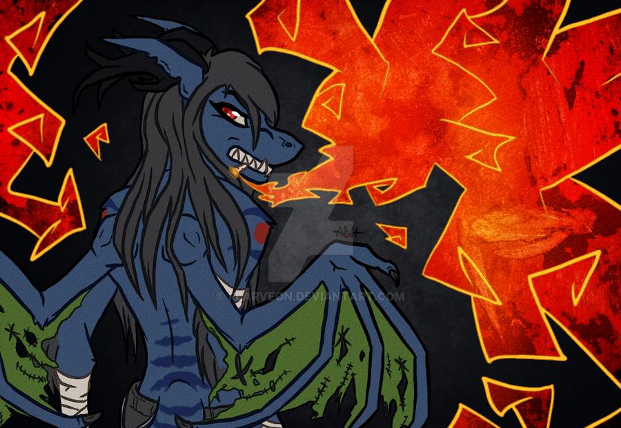 Angry Smoker by flarveon