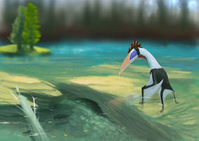 Pterosaur Ptuesday Navajodactylus! by tepuitrouble