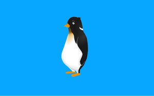 Tux Penguin 2 by DeadLetterDesign