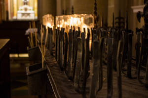 Church Candles by DeadLetterDesign