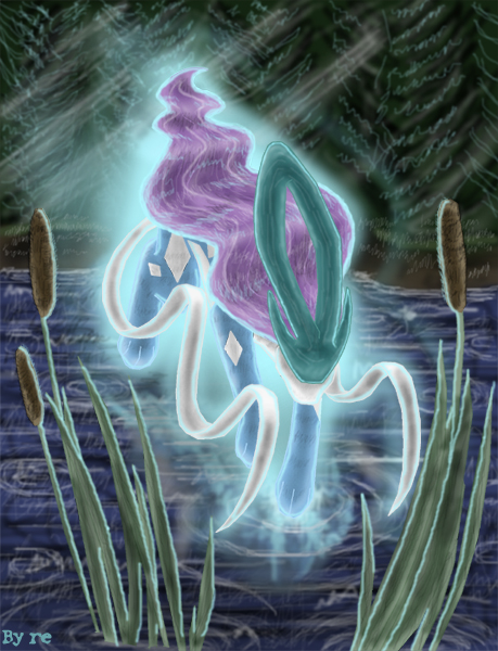 Suicune by Reina-Kitsune
