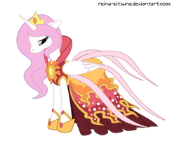 Young Celestia - Solar Gown