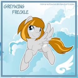 Pony OC Greywing Freckle by Reina-Kitsune