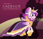 Princess Cadence: the Winter Gown