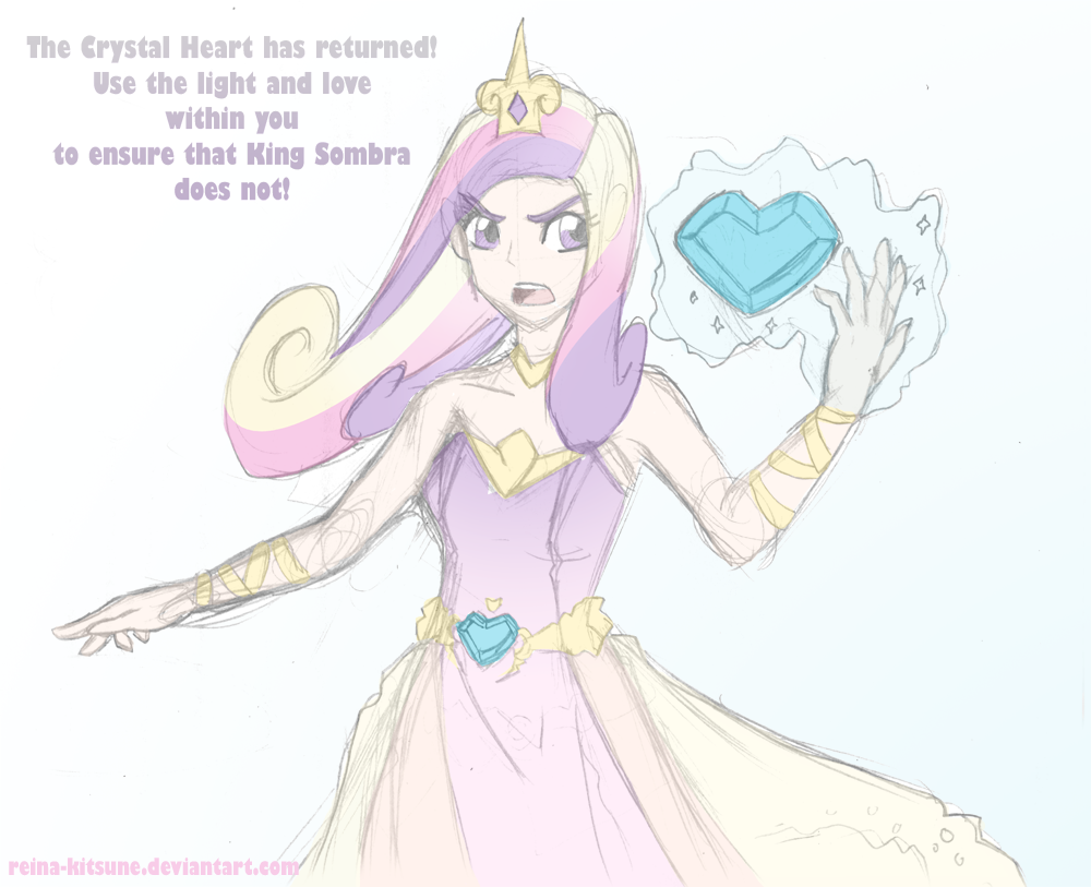 The Crystal Heart has returned by Reina-Kitsune
