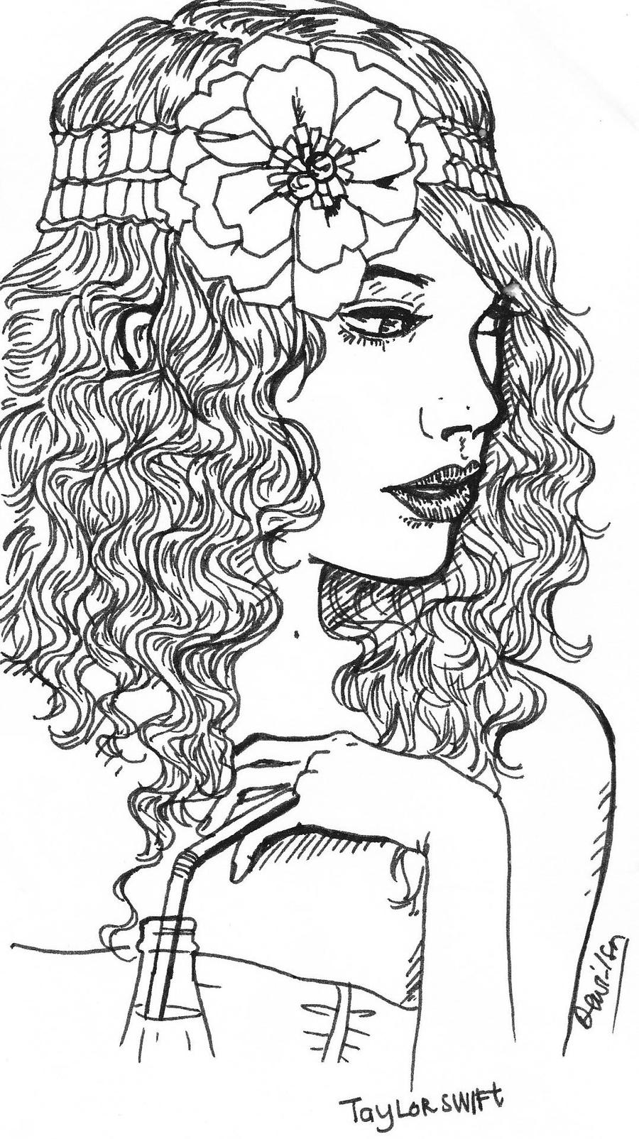 this taylor swift coloring pages to print pictures image from ourTaylor Swift Coloring Pages
