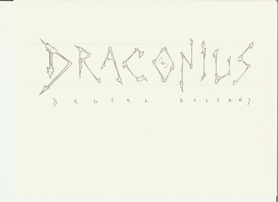 Draconius's sketchbook