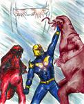 NOVA 619 vs The Dire Wraiths