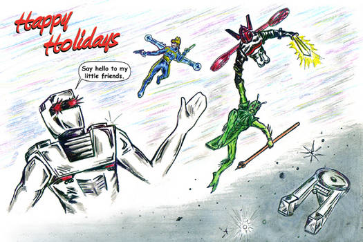 Happy Holidays from ROM and The Micronauts