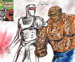ROM spaceknight Ben Grimm Marvel superhero team up