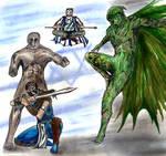Ragman and The Hayoth team up fan art