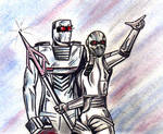 Ikon spaceknight and classic ROM team up
