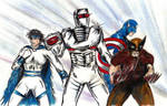 ROM Sabra Wolverine Captain America team up