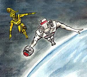 Spaceknights in orbit