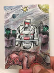 ROM spaceknight on the hunt in The Skrull Empire