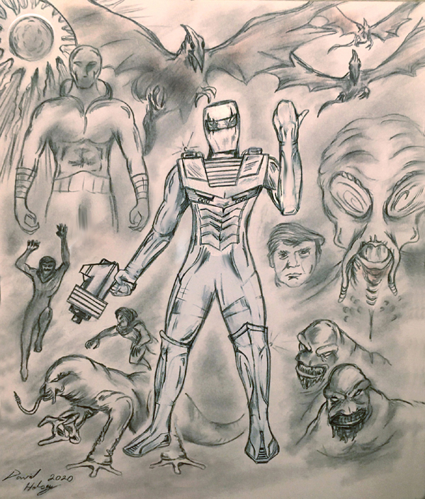 ROM spaceknight Election Year 2020