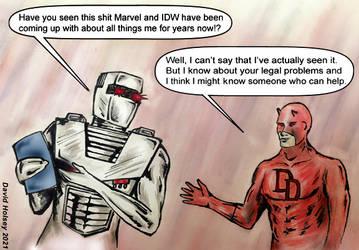 If ROM had met Daredevil in 2021