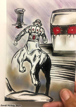 ROM spaceknight and Force Commander team up