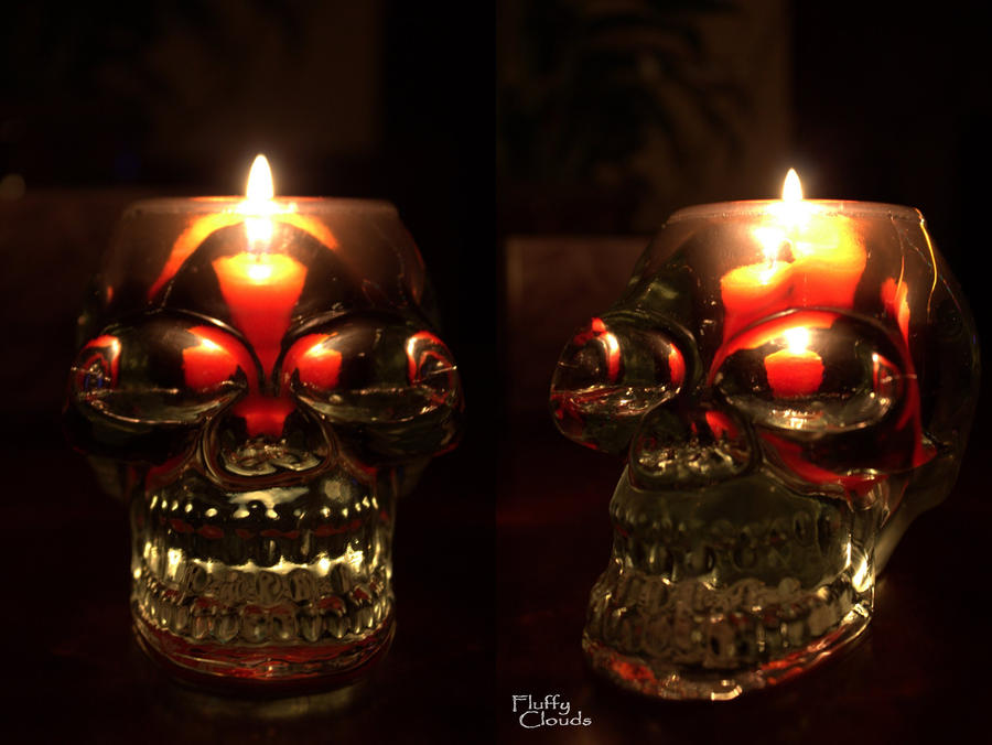 Plamen  svece - Page 3 Skull_candle_holder_by_lissapix-d4e7gkr